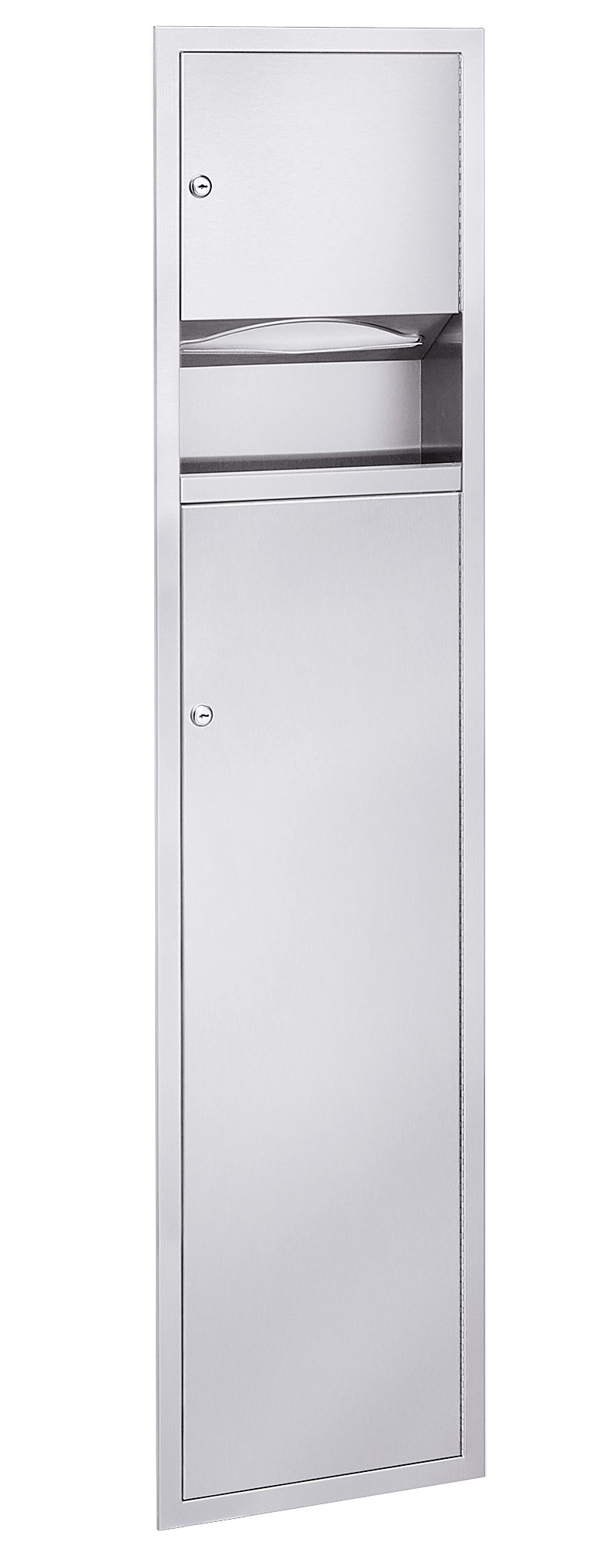 Low Capacity Towel Dispenser    5 3 Gallon Waste Receptacle